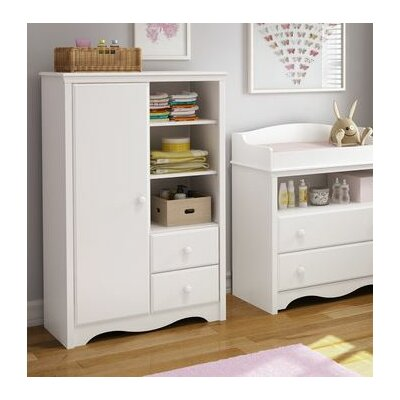 South Shore Heavenly Armoire with Drawers 3680038