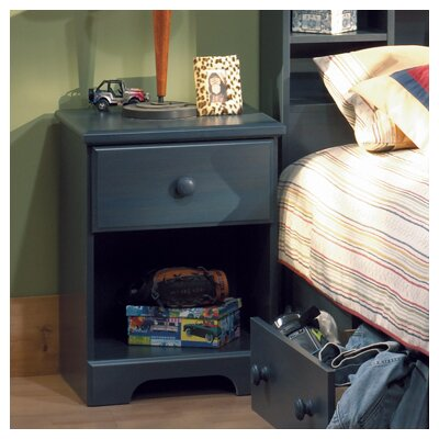 South Shore Summer Breeze 1 Drawer Nightstand 3294 062