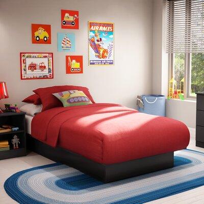 South shore libra twin platform customizable bedroom set - South shore furniture bedroom sets ...
