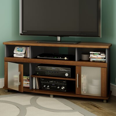 City Life Corner TV Stand for TVs Up to 50