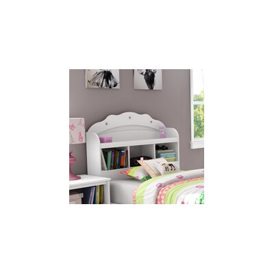 South Shore Tiara Twin Bookcase Headboard 3650098