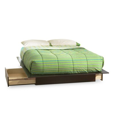Back Bay Queen Storage Platform Bed by South Shore