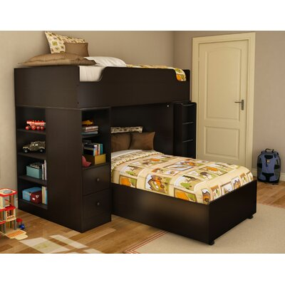 South Shore Logik Twin L-Shaped Bunk Bed