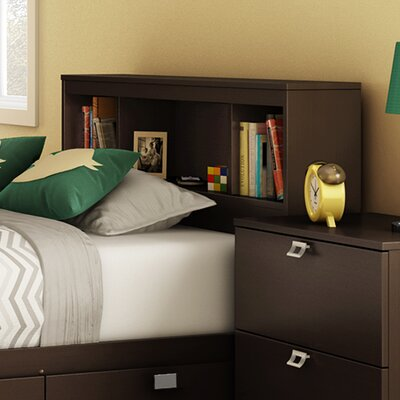 South Shore Karma Bookcase Headboard 900