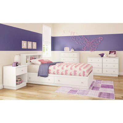 South Shore Litchi Twin Mate's Customizable Bedroom Set 9011213 9012213