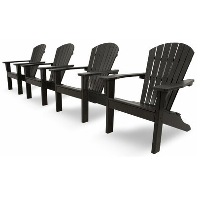 Classics 4 Piece Adirondack Seating Group by Ivy Terrace