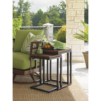 Tommy Bahama Outdoor Ocean Club Pacifica Nesting Table