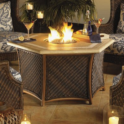 Island Estate Lanai Gas Fire Pit by Tommy Bahama Outdoor