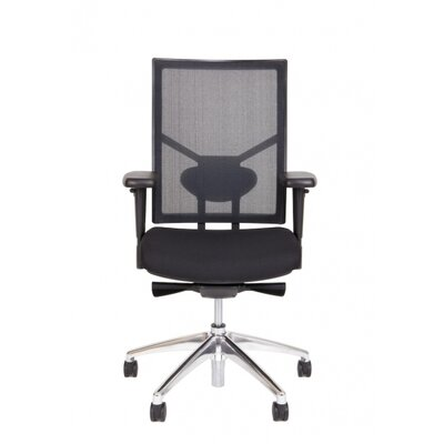 Strategie High Back Ergonomic Mesh Conference Chair with Arms by Synergie