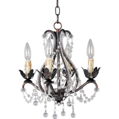 Katherine 4-Light Chandelier by Maxim Lighting