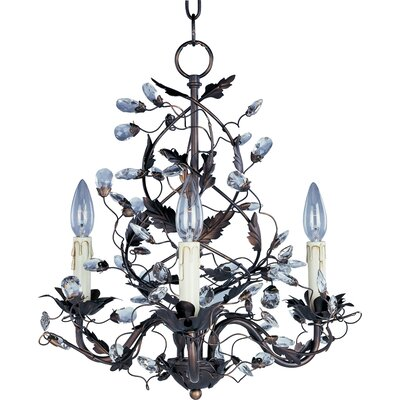 Elegante 3-Light Chandelier Product Photo