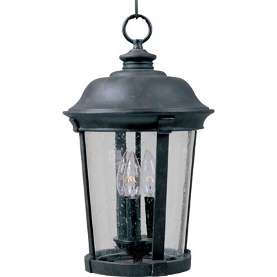 Maxim Lighting Dover DC 3 Light Outdoor Hanging Lantern