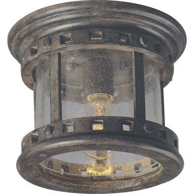 Santa Barbara VX 1 Light Flush Mount Product Photo