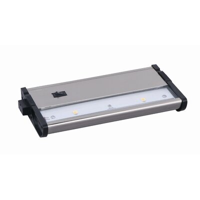 "Maxim Lighting CounterMax MX-L120DC 7"" 2700K 2-LED Under Cabinet"