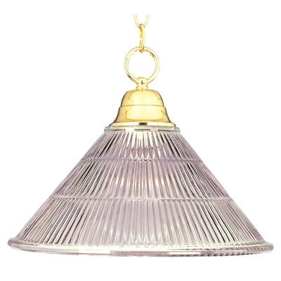 1-Light Invert Bowl Pendant Product Photo