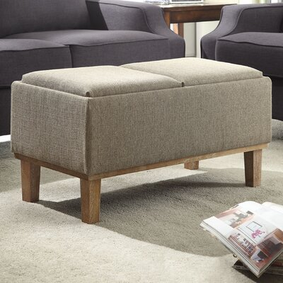 Designs4Comfort Storage Ottoman by Convenience Concepts