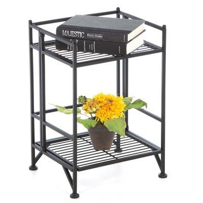 Convenience Concepts 2 Tier Folding Shelf 20.5'' Accent Shelves