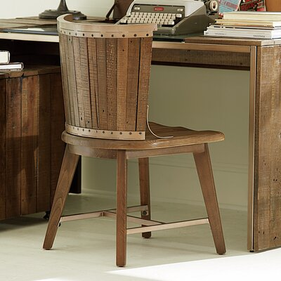 Flashback Mid-Back Desk Chair by Hammary