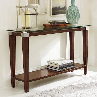 Solitaire Console Table by Hammary