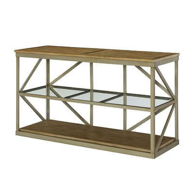 Modern Theory Console Table by Hammary