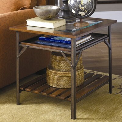 Mercantile End Table by Hammary