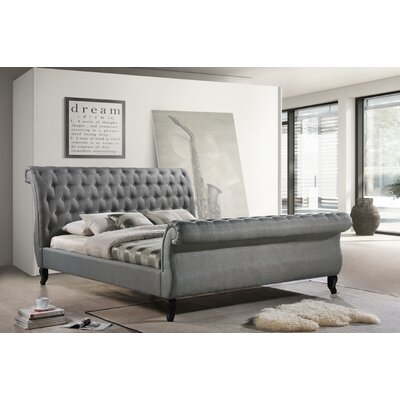 Nottingham Sleigh Bed by LuXeo