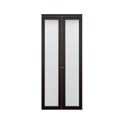 erias home designs baldarassario bifold closet door reviews wayfair. Black Bedroom Furniture Sets. Home Design Ideas