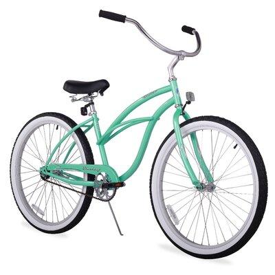 "Firmstrong Girl's 24"" Urban Lady Beach Cruiser Bike"