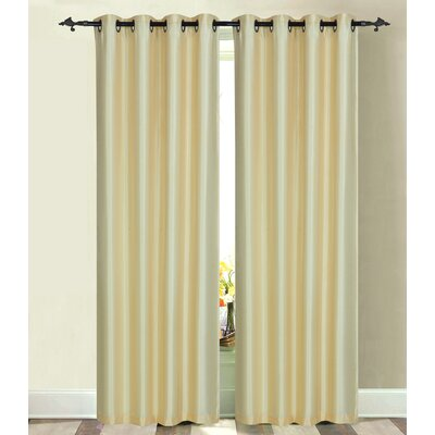 Luna Single Curtain Panel Product Photo