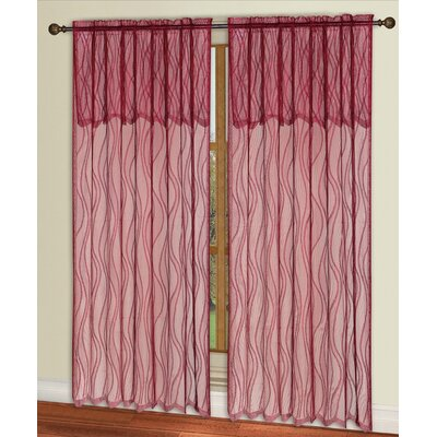 Carmen Lace Single Curtain Panel Product Photo