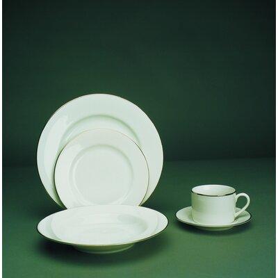 "Ten Strawberry Street Silver Line 10.25"" Dinner Plate"