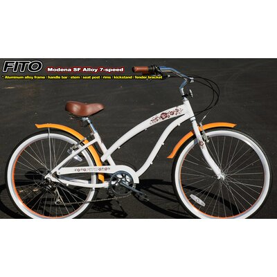 Women's Modena SF Aluminum Alloy 7-Speed Cruiser Bike by Fito