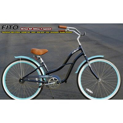 Women's Brisa SF Aluminum Alloy 1-Speed Cruiser Bike by Fito