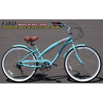 Women's Modena 7-Speed Cruiser Bike by Fito