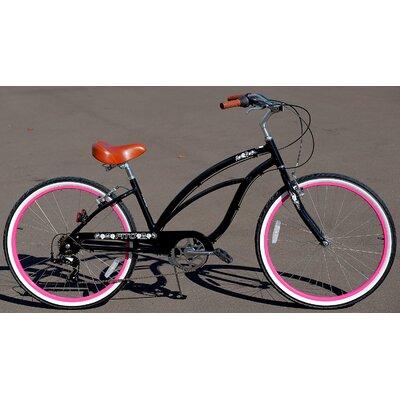 Woman's Marina Alloy 7-Speed Beach Cruiser Bike by Fito