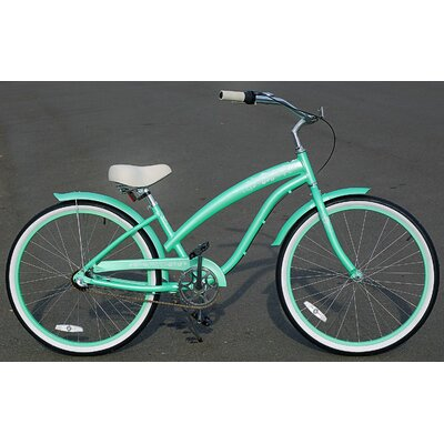 Women's Modena EX Alloy Shimano Nexus 3-Speed Beach Cruiser Bike by Fito