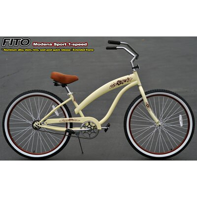 Women's Modena Sport 1-Speed Beach Cruiser Bike by Fito