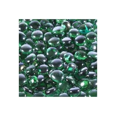 5 lbs of Glass Gems in Aqua Green by Wholesalers USA