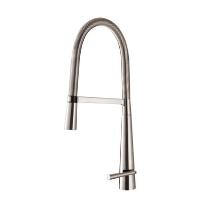 Cascada Single Handle Pull-Down Kitchen Faucet Product Photo