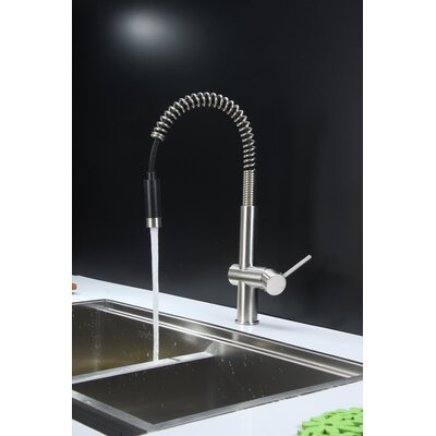 """Ruvati 33"""" x 19"""" Kitchen Sink with Faucet"""