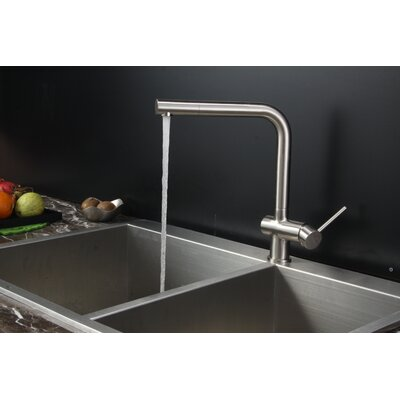 """Tirana 33"""" x 22"""" Drop-in Double Bowl Kitchen Sink Product Photo"""