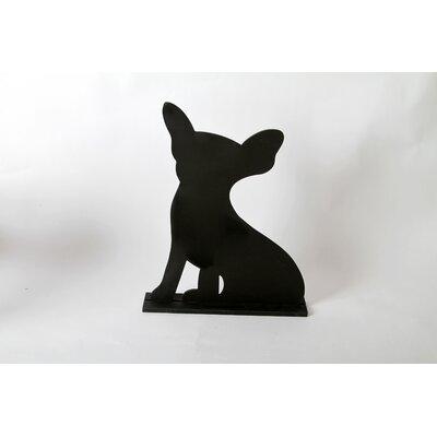 "DEI Unleashed ""Chihuahua"" Dog Silhouette Table 1' 3"" x 1' 0.25"" Chalkboard"
