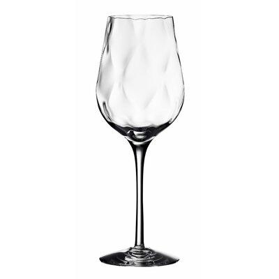 Dizzy Diamond White Wine Glass by Orrefors