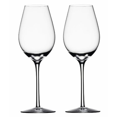 Difference Fruit White Wine Glass by Orrefors