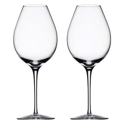 Difference White Wine Glass by Orrefors