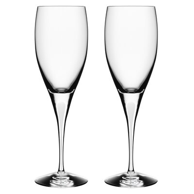 Intermezzo White Wine Glass by Orrefors