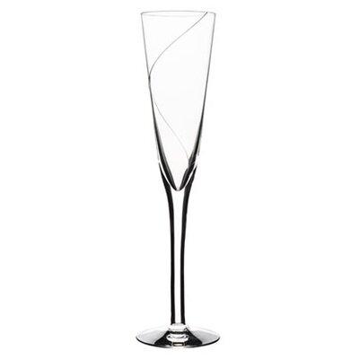 Line Flute Glass by Kosta Boda