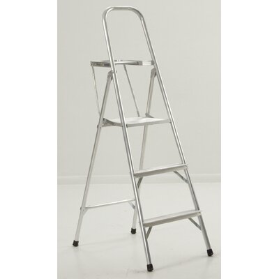 Michigan Ladder Household 1-Step Aluminum Step Stool with 200 lb. Load Capacity
