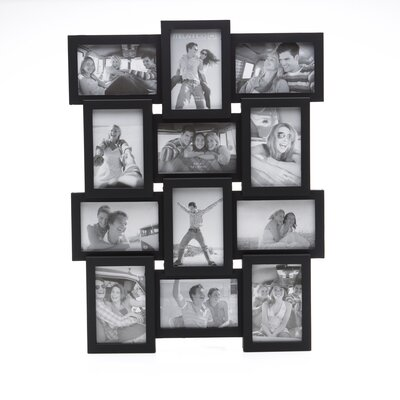 Melannco 4 Opening Collage Picture Frame with Fillets
