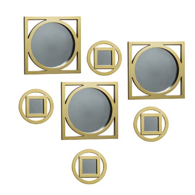 Circle Square Wall Mirrors by Elements